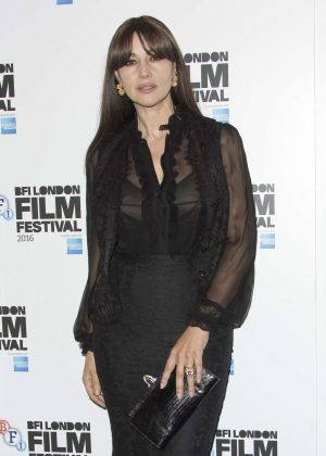Monica Bellucci - 'On The Milky Road' Screening at 60th BFI LFF in London