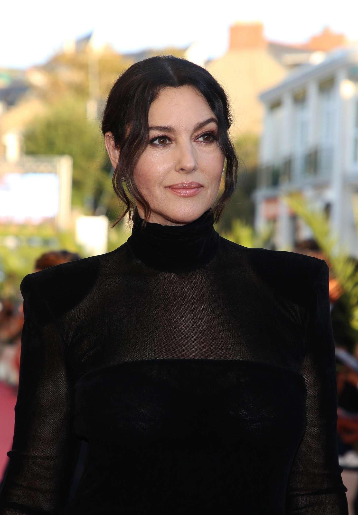 Monica Bellucci 2018 : Monica Bellucci: Opening ceremony of the 29th edition of Dinard Film Festival -01
