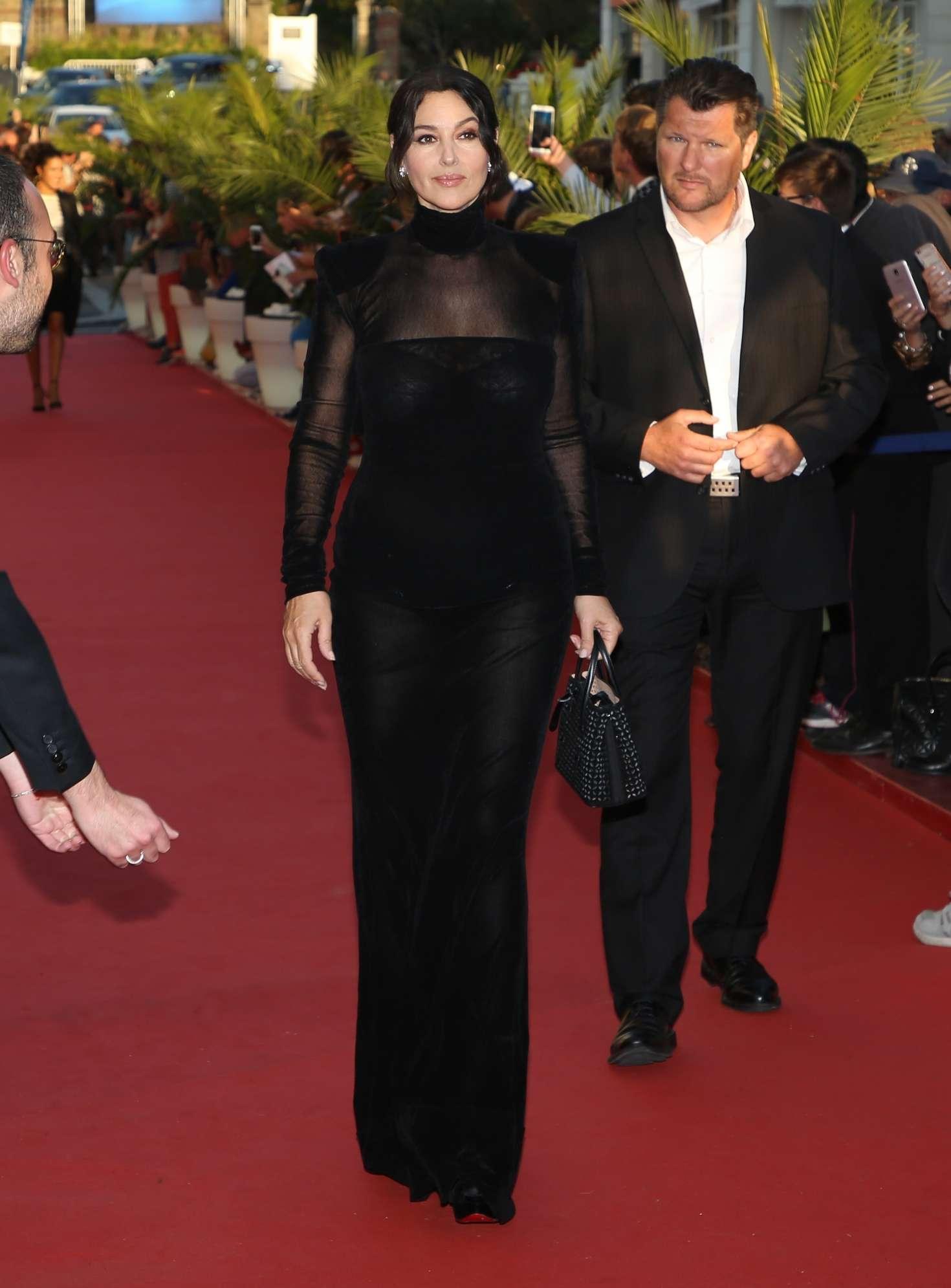 Monica Bellucci 2018 : Monica Bellucci: Opening ceremony of the 29th edition of Dinard Film Festival -02