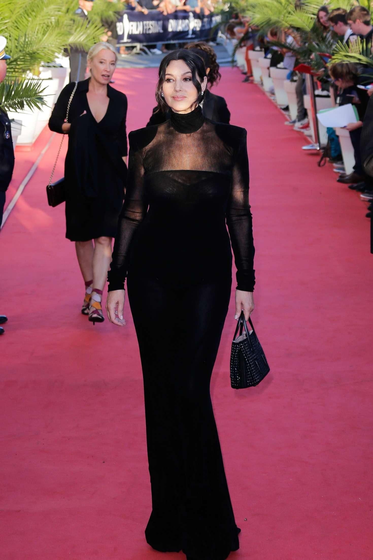 Monica Bellucci 2018 : Monica Bellucci: Opening ceremony of the 29th edition of Dinard Film Festival -07