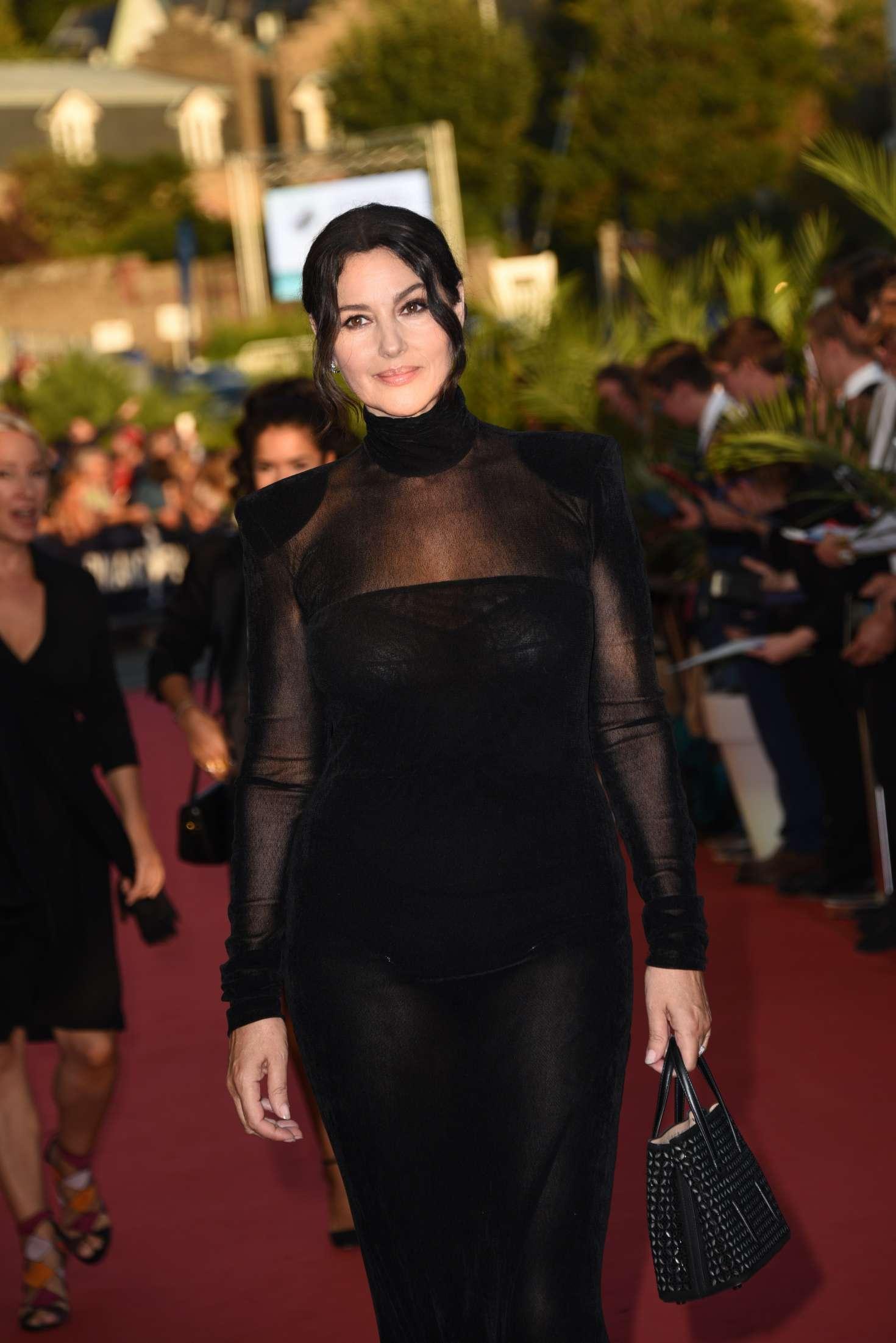 Monica Bellucci 2018 : Monica Bellucci: Opening ceremony of the 29th edition of Dinard Film Festival -09