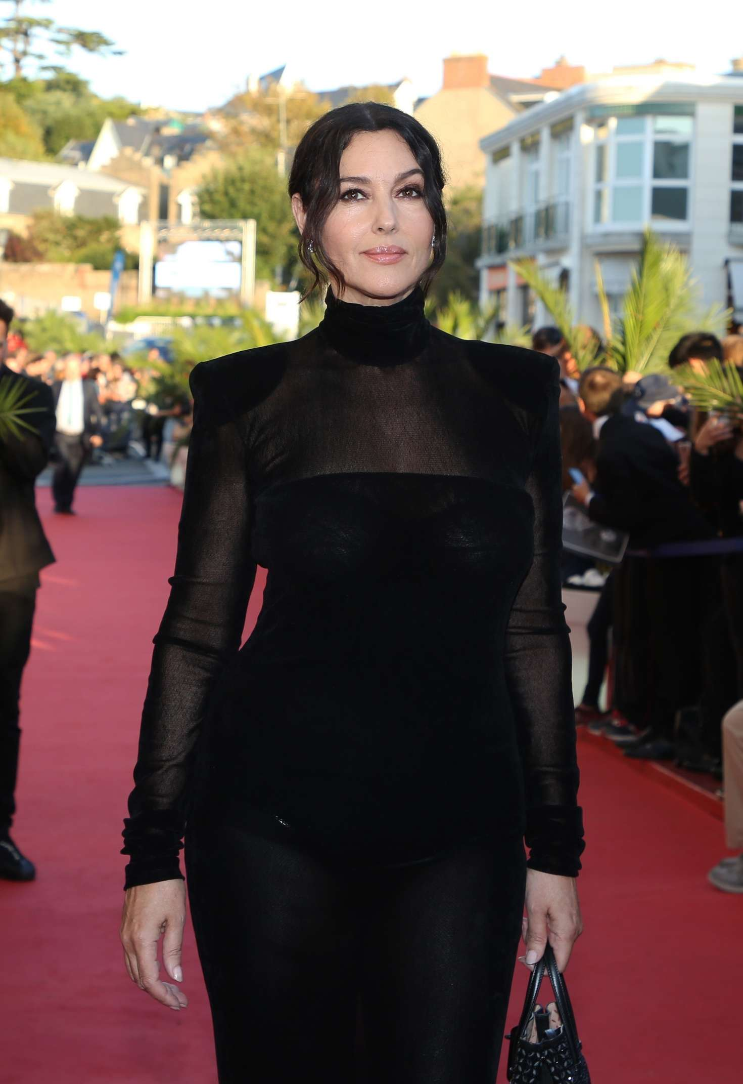 Monica Bellucci 2018 : Monica Bellucci: Opening ceremony of the 29th edition of Dinard Film Festival -10