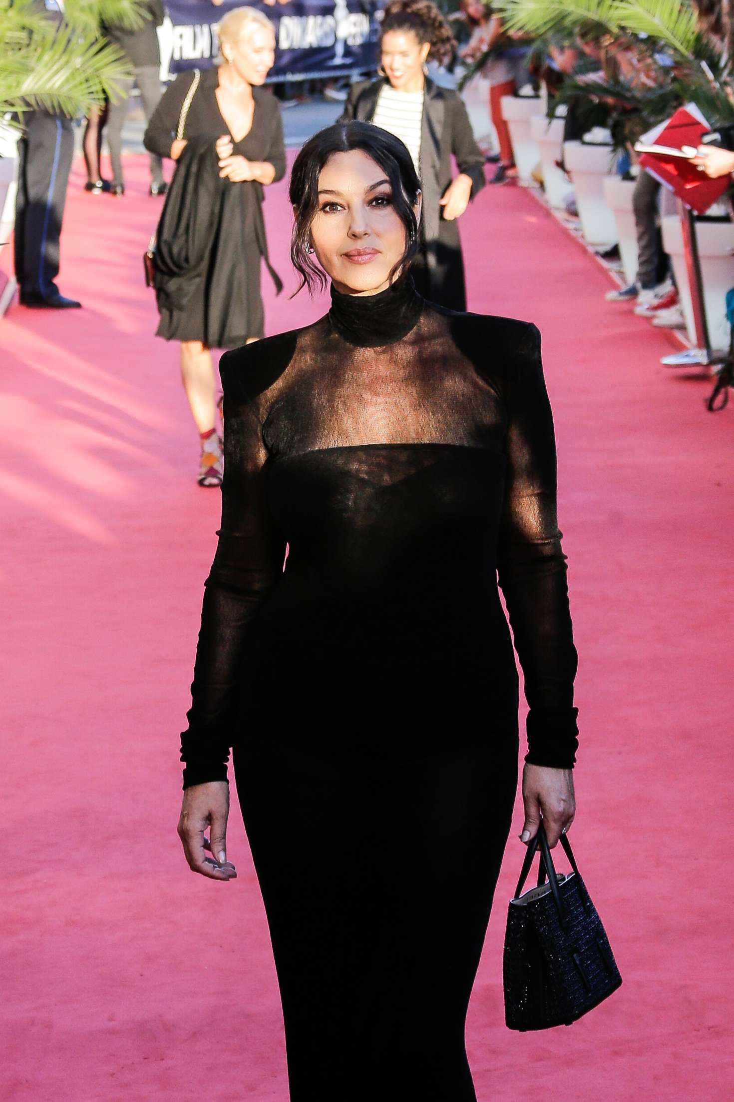Monica Bellucci 2018 : Monica Bellucci: Opening ceremony of the 29th edition of Dinard Film Festival -13
