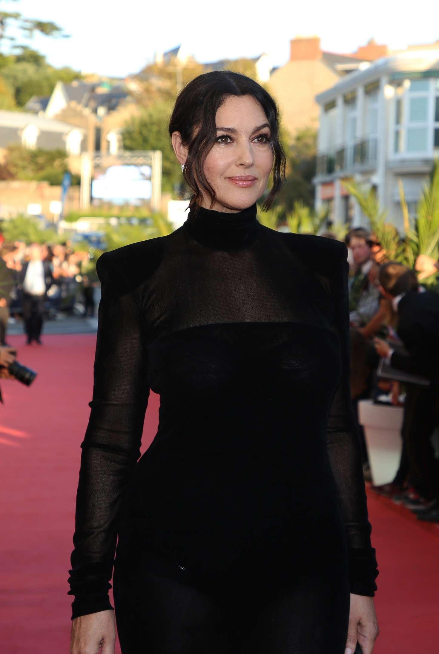 Monica Bellucci 2018 : Monica Bellucci: Opening ceremony of the 29th edition of Dinard Film Festival -14