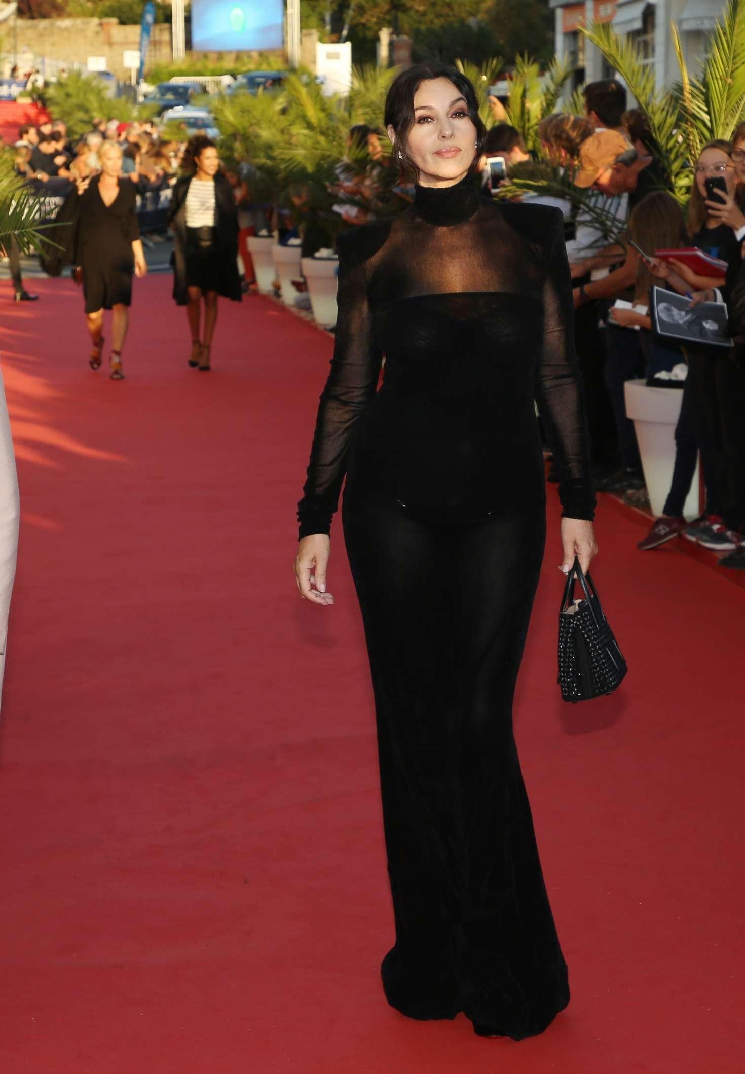 Monica Bellucci 2018 : Monica Bellucci: Opening ceremony of the 29th edition of Dinard Film Festival -15