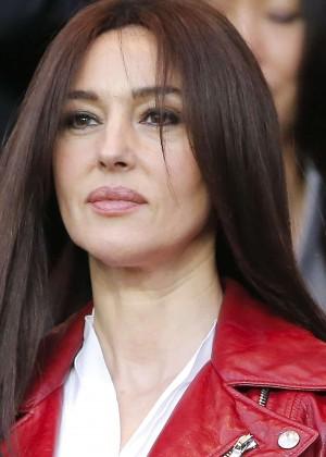 Monica Bellucci - Paris Saint-Germain vs FC Barcelona in Paris