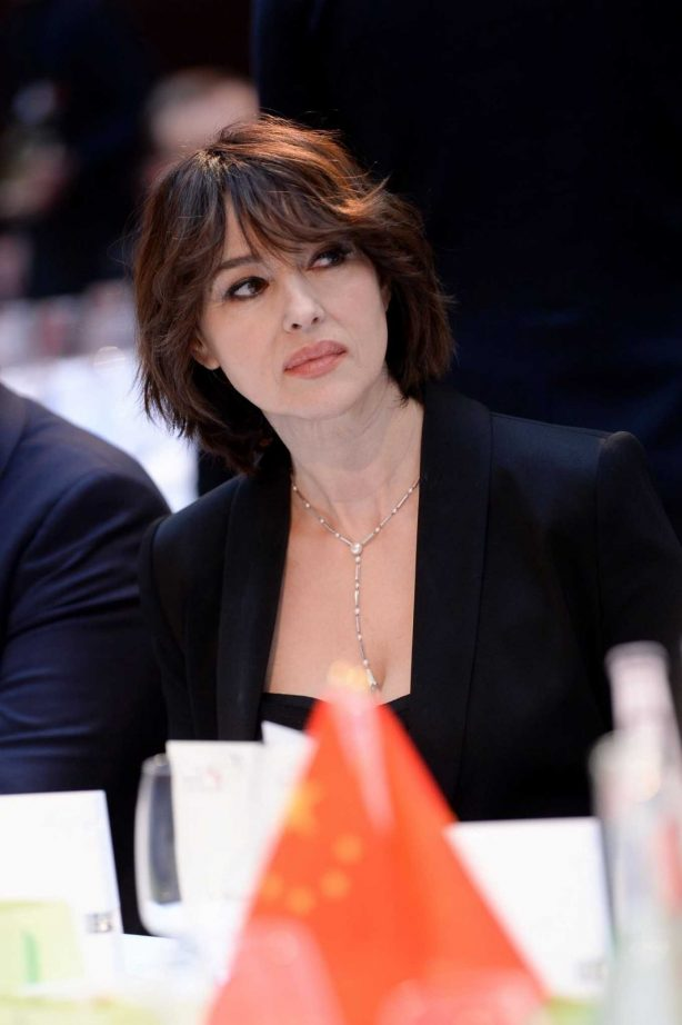 Monica Bellucci - Pictured at Chinese Business Club Dinner in Paris