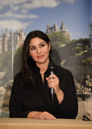Monica Bellucci - Press Conference at 29th Dinard British Film Festival