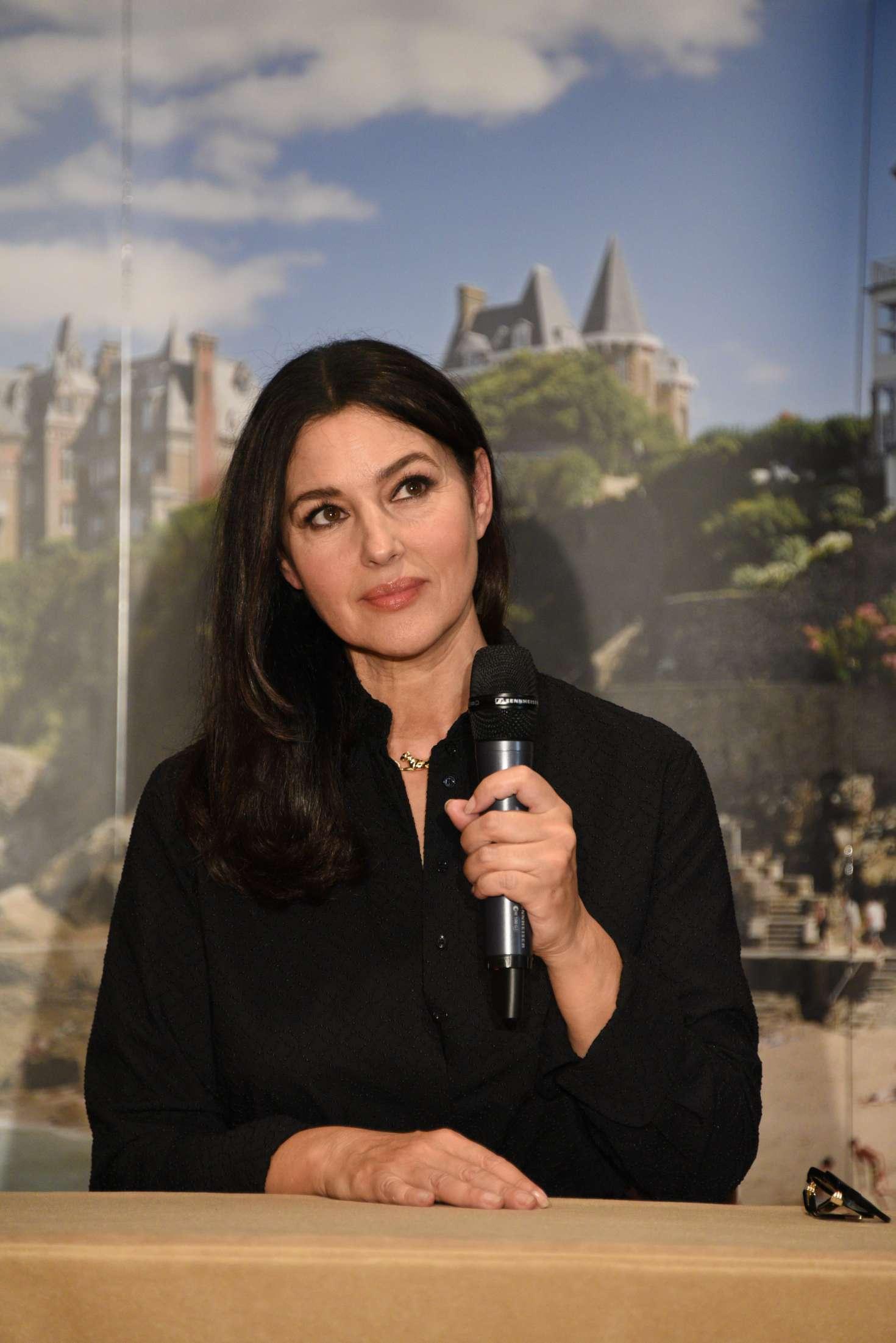 Monica Bellucci - Press Conference at 29th Dinard British Film Festival