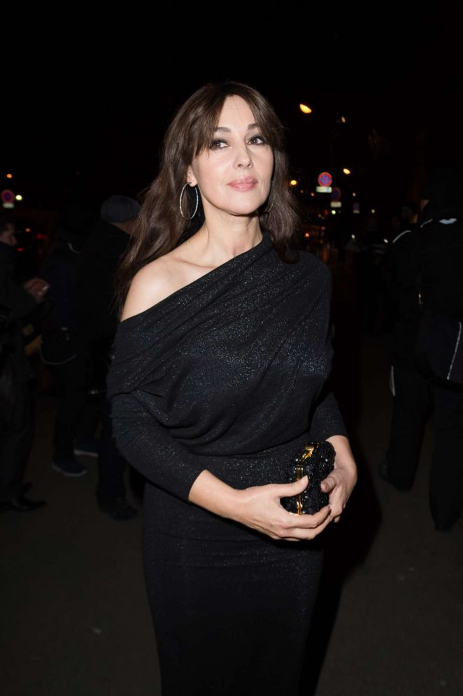 Monica Bellucci: Sidaction Gala Dinner SS 2017 -01