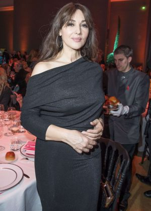 Monica Bellucci - Sidaction Gala Dinner SS 2017 in Paris