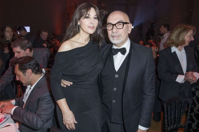 Monica Bellucci 2017 : Monica Bellucci: Sidaction Gala Dinner SS 2017 -06