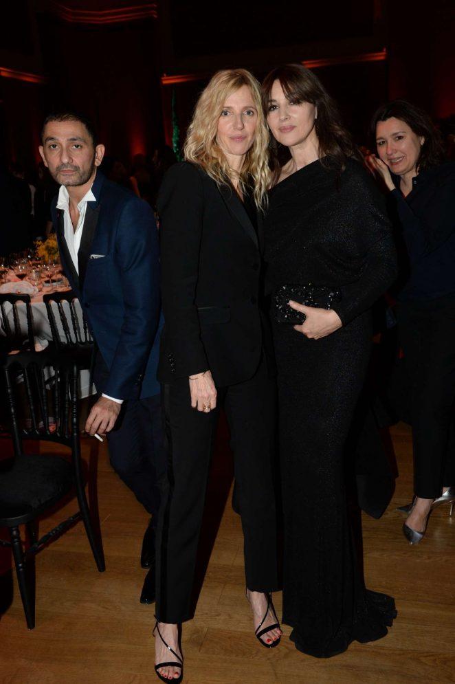 Monica Bellucci: Sidaction Gala Dinner SS 2017 -08