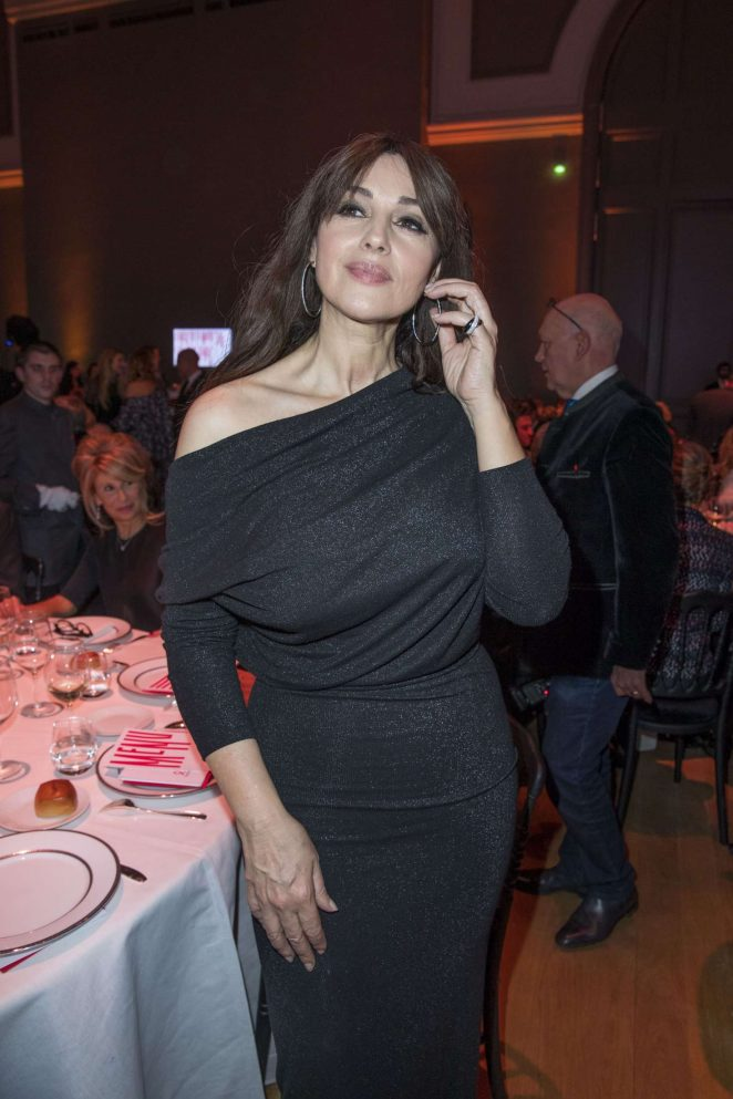 Monica Bellucci 2017 : Monica Bellucci: Sidaction Gala Dinner SS 2017 -28