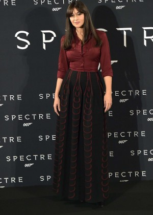 Monica Bellucci - 'Spectre' Photocall in Rome