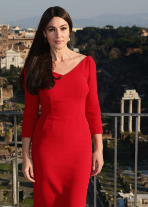"Monica Bellucci - ""Spectre"" Photocall in Rome"