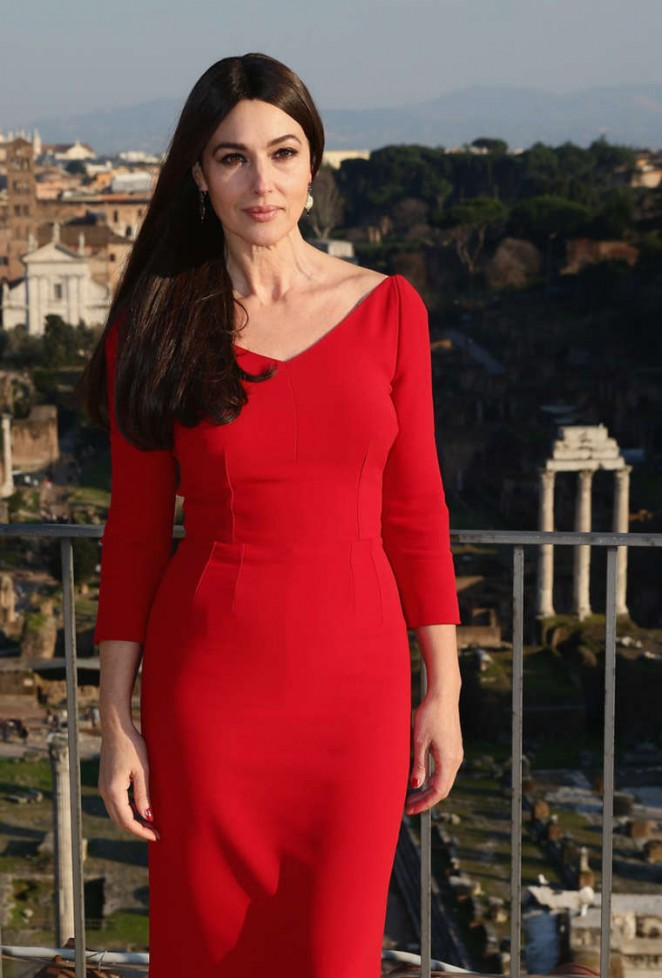 "Monica Bellucci – ""Spectre"" Photocall in Rome"