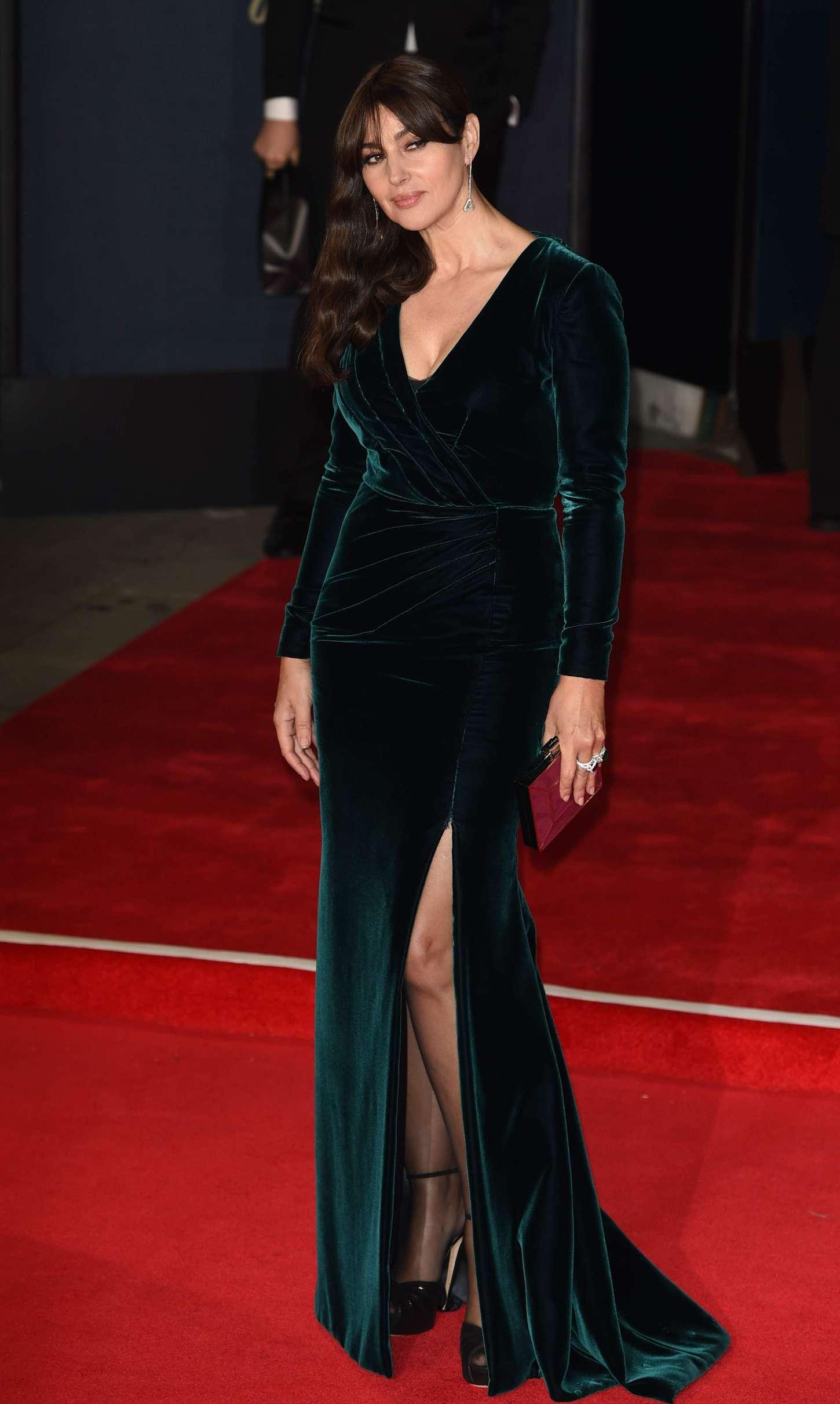 Monica Bellucci Spectre Premiere In London Gotceleb