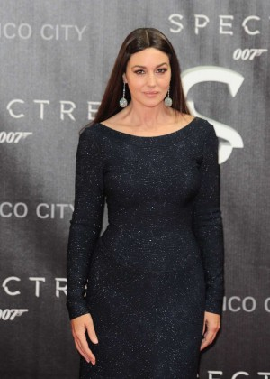 Monica Bellucci - 'Spectre' Premiere in Mexico City