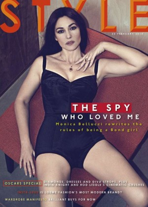 Monica Bellucci - Sunday Times Style Cover (February 2015)
