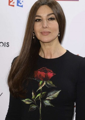 Monica Bellucci - The Lumiere! Le Cinema Invente Exhibition Preview in Paris