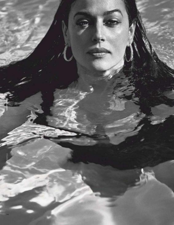 Monica Bellucci 2019 : Monica Bellucci – Vanity Fair magazine (Italia August 2019)-01