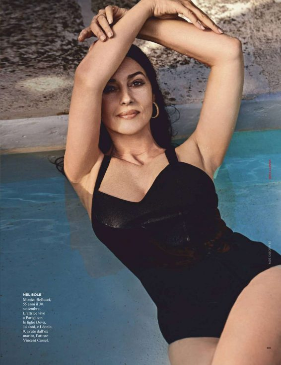 Monica Bellucci - Vanity Fair magazine (Italia  August 2019)