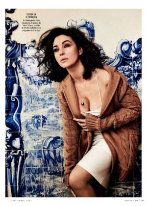 Monica Bellucci - Vanity Fair Magazine - Spain August 2017 issue