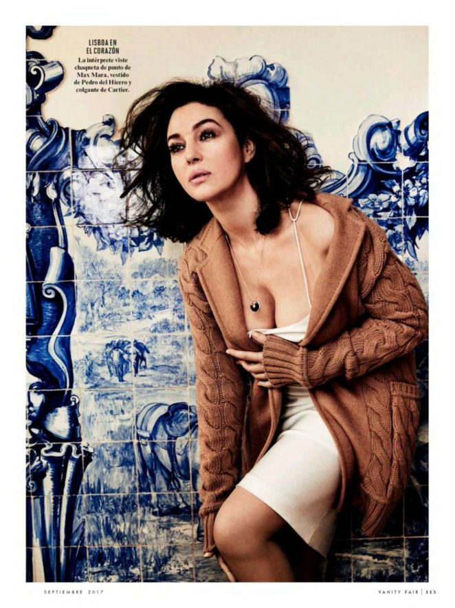 monica bellucci nude vanity fair magazine