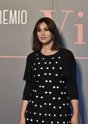 Monica Bellucci - Virna Lisi Award 2017 in Rome