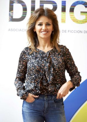 Monica Cruz at 'Dirige' Photocall in Madrid