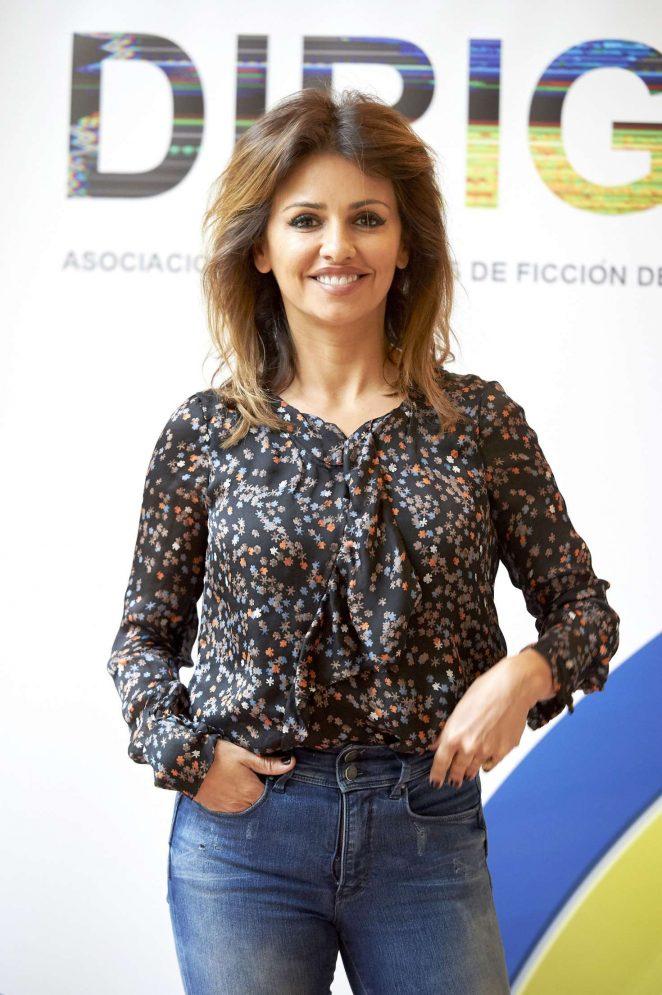 Monica Cruz at 'Dirige' Photocall in Madrid