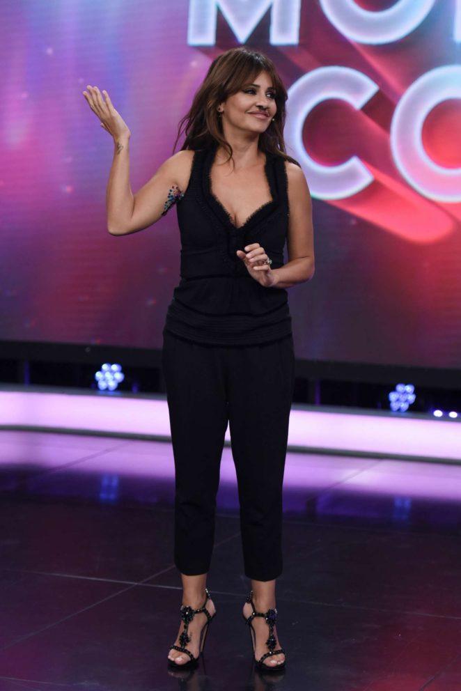 Monica Cruz - Attends 'El Hormiguero' TV Show in Madrid