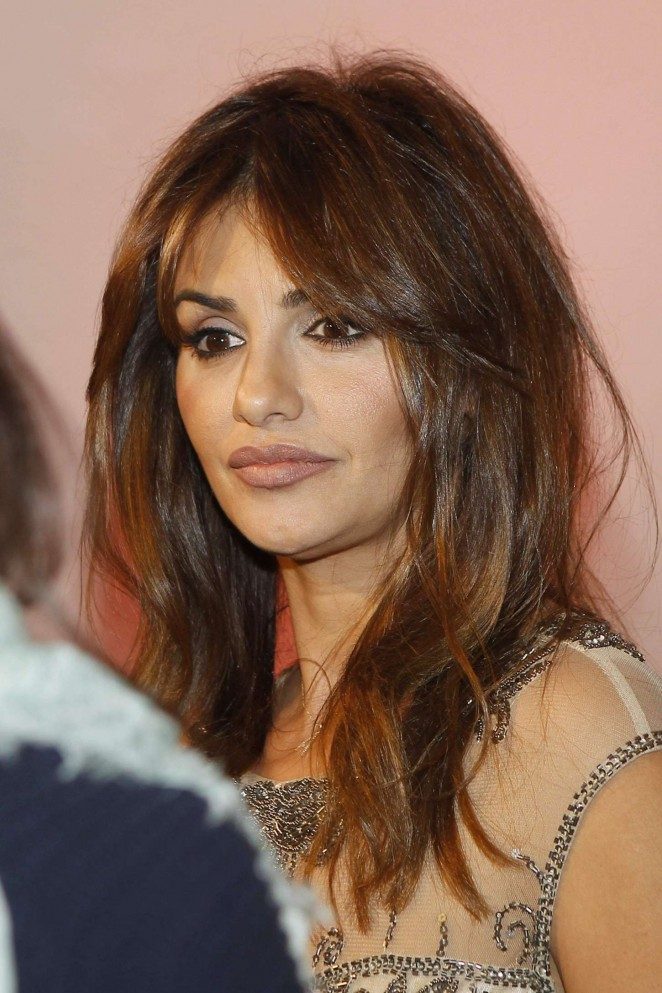 Monica Cruz: During the first edition of the magazine Interiors Awards -02