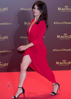 Monica Cruz - Magnum campaign launch at Gran Maestre Theatre in Madrid - Spain