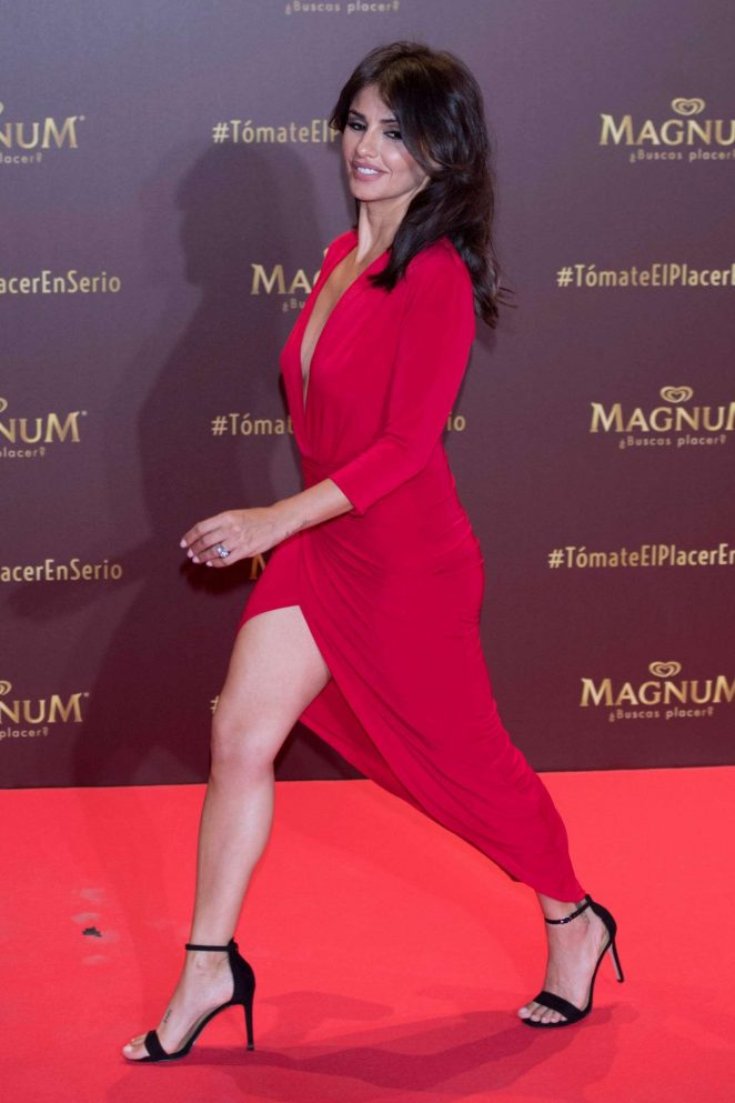 Monica Cruz - Magnum campaign launch at Gran Maestre Theatre in Madrid - Spain