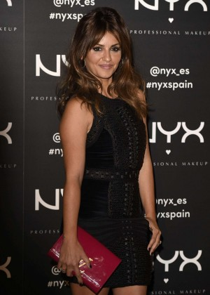 Monica Cruz - NYX Cosmetics Launch in Madrid