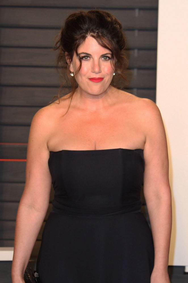 Monica Lewinsky - 2016 Vanity Fair Oscar Party in Beverly Hills