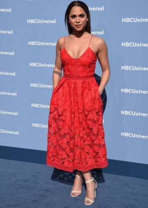 Monica Raymund - NBCUniversal Upfront Presentation 2016 in New York City