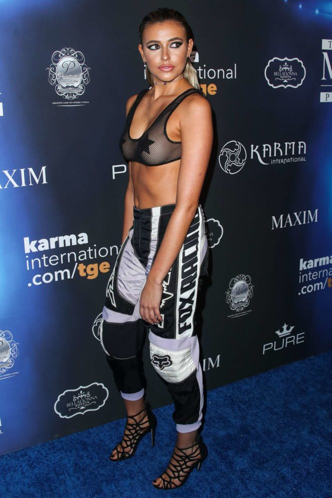 Monica Sims - 2017 Maxim Halloween Party in Los Angeles
