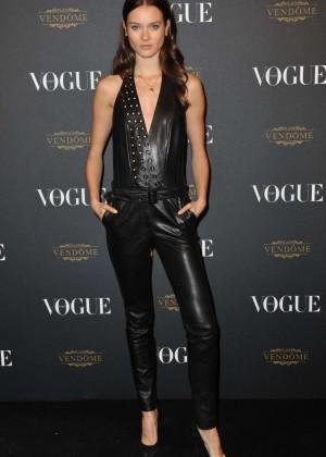 Monika Jagaciak - Vogue 95th Anniversary Party in Paris