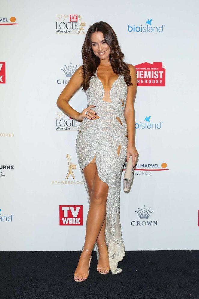 Monika Radulovic - 2017 Annual TV Week Logie Awards in Melbourne