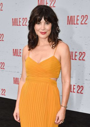 Moniqua Plante - 'Mile 22' Premiere in Los Angeles
