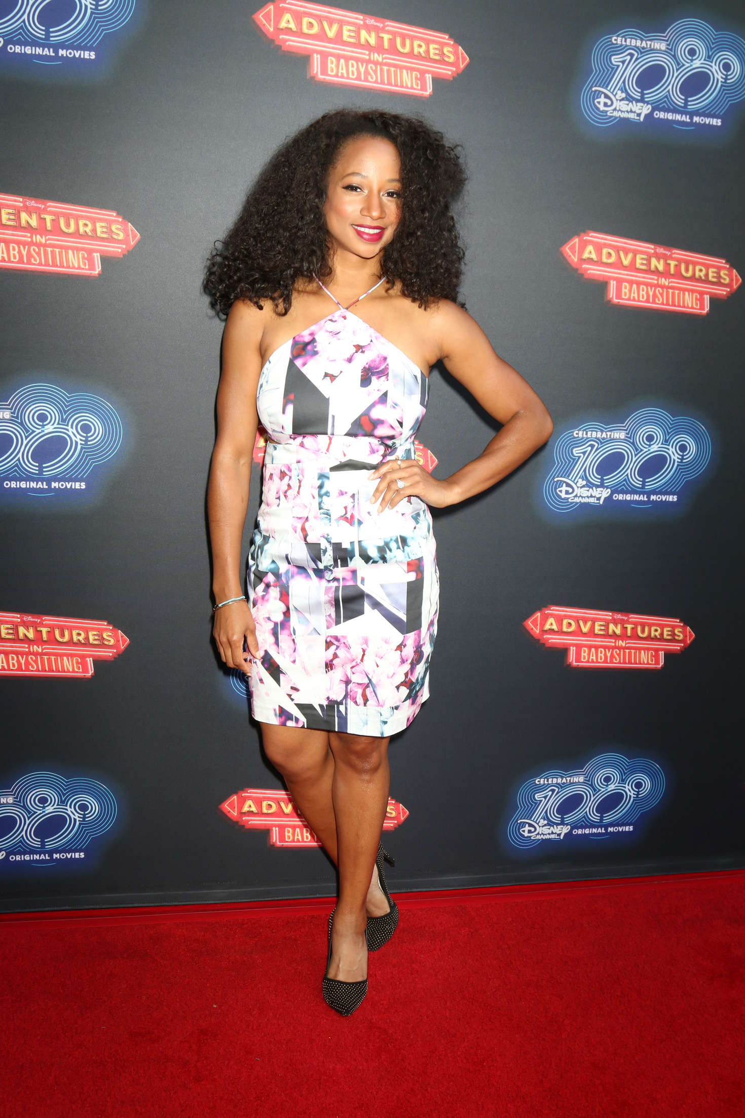 Monique Coleman Adventures In Babysitting Premiere In Los Angeles Gotceleb