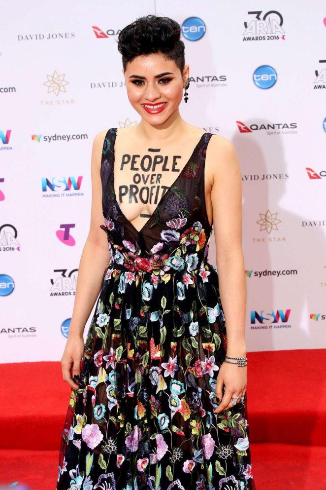 Montaigne - 2016 ARIA Awards in Sydney
