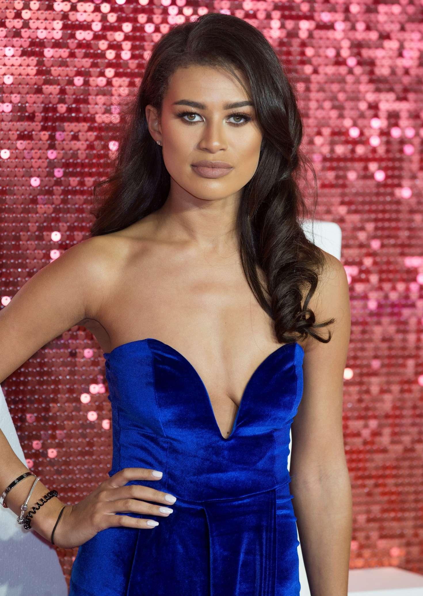Montana Brown - 2017 ITV Gala Ball in London