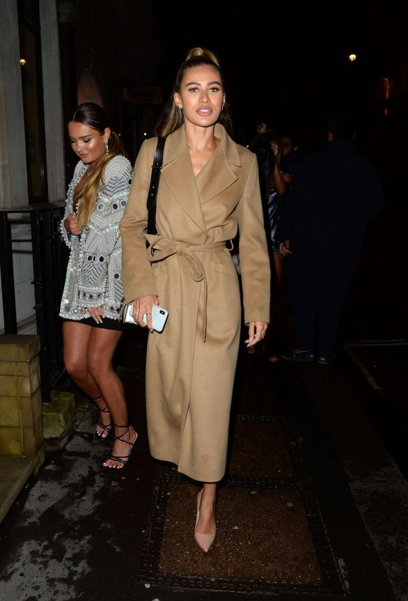 Montana Brown - Arrives at Bagatelle in London