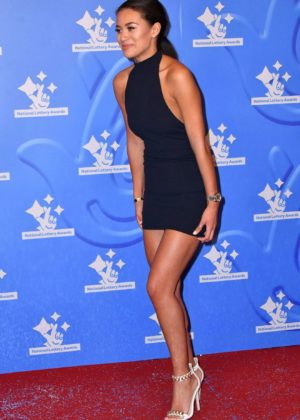Montana Brown - National Lottery Awards 2017 in London