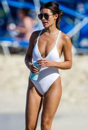 Montana Brown - On the beach in Barbados