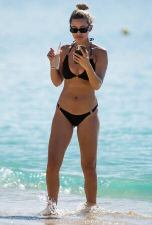 Montana Brown - Seen on the beach in Barbados